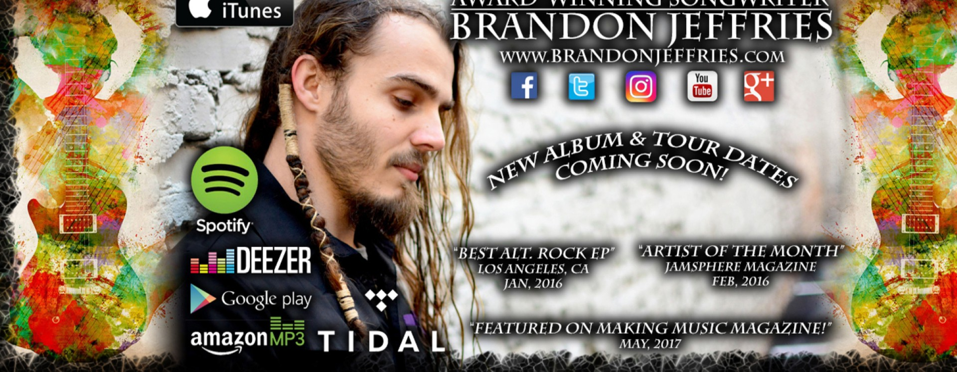 Songwriter - Brandon Jeffries | ReverbNation