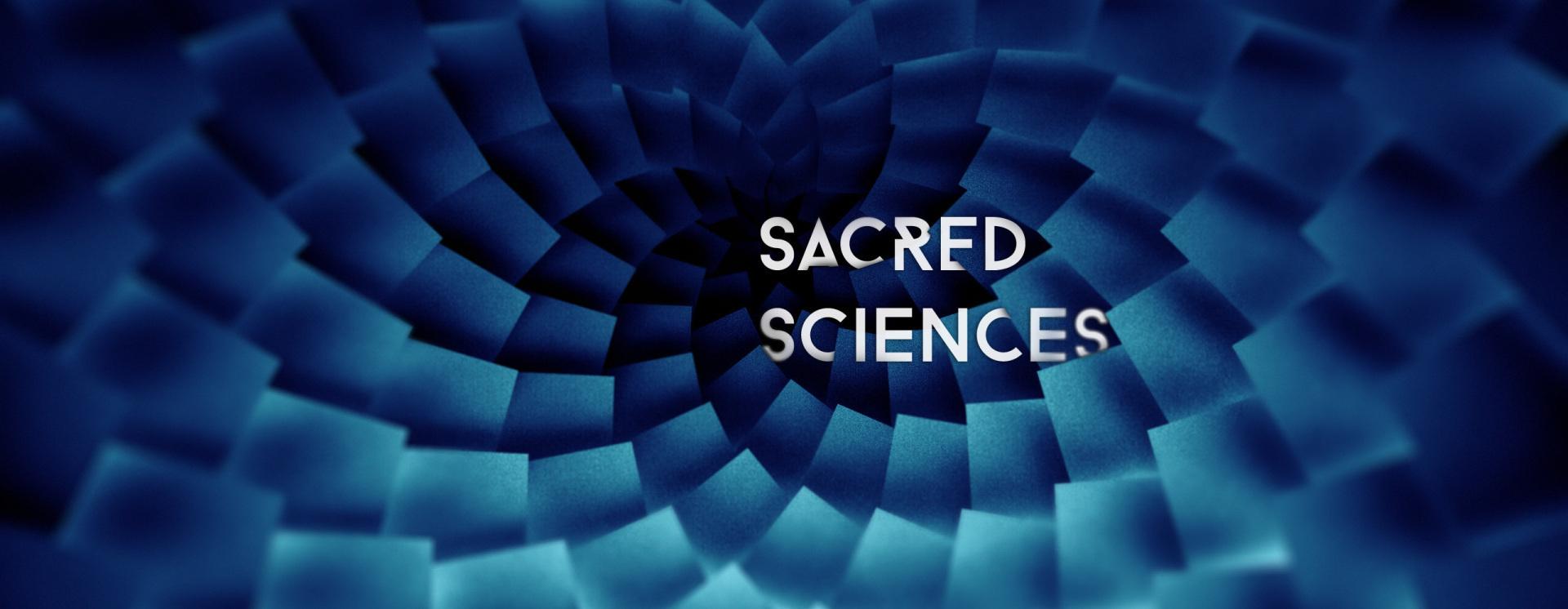 Sacred sciences wall copy