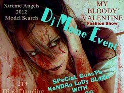 Image for My Bloody Valentine Model Search 2012