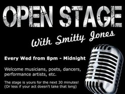 Image for Open Stage with Smitty Jones