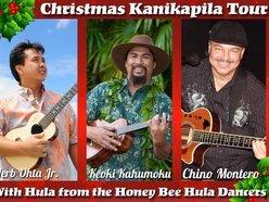 Image for Hawaiian Slack Key Christmas...Christmas Kanikapila Tour!  Keoki Kahumoku, Herb Ohta Jr. and Chino Montero