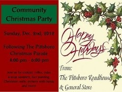 Image for The Pittsboro Roadhouse Float followed by Cookies and Refreshments and Tree Decorating in our Lounge