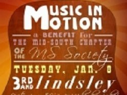 Image for Music In Motion : a Benefit for the Mid-South Chapter of the MS Society