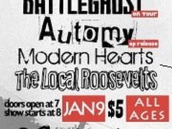Image for Battleghost, Count to four, Automy, modern Hearts and the local Roosevelts