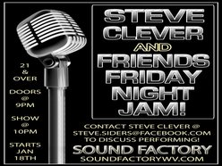 Image for Steve Clever & Friends Friday Night Jam!