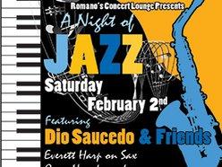 Image for Dio Saucedo & Friends! Jazz Extravaganza!!!