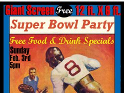 Image for Super Bowl Party - Giant 12 ft. X 6 ft. Screen