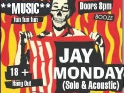 Image for Jay Monday (Solo & Acoustic...w/ Friends)