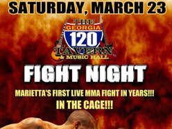 Image for Live MMA Cage Fight Night