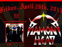 Image for DIAMOND HEAD @ THE GIN MILL & GRILLE