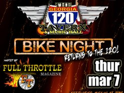 Image for Bike Night at The 120 w/ Full Throttle Magazine!