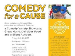Image for Comedy for a Cause -Good Neighbors of Central Ohio
