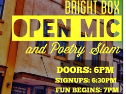 Image for Open Mic and Poetry Slam