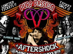 Image for New Years Eve Bash - Pure Passion + Aftershock
