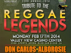 Image for 33rd Annual Tribute to the Reggae Legends