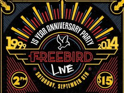 """Image for FREEBIRD LIVE """"15 Year Anniversary"""" PARTY"""