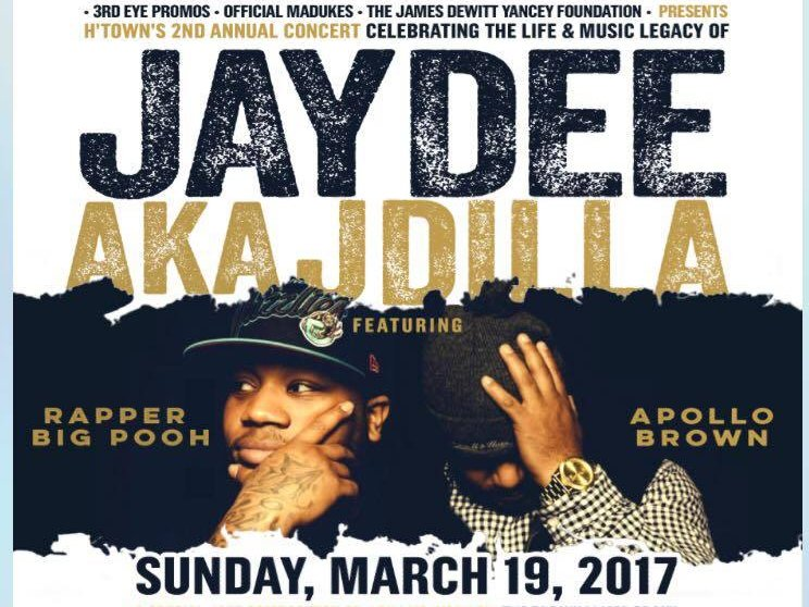 """Image for H'Town""""s 2nd Annual J Dilla Concert"""