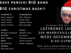 Image for Dave Panichi BIG Band Big Christmas Bash