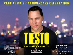 Image for CLUB CUBIC 8th ANNIVERSARY ft TIESTO