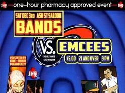 Image for 1HRx Entertainment's Bands  vs. MCs