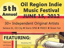 Oil Region Indie Music Festival