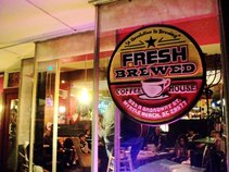 Fresh Brewed Coffee/Music House