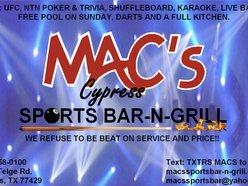 MAC'S SPORTS BAR-N-GRILL