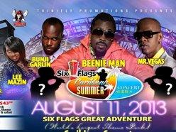 Six Flags Great Adventures Caribbean Concert Series