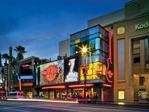 Hard Rock Cafe Hollywood on Hollywood Blvd