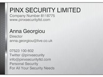 PINX SECURITY LIMITED