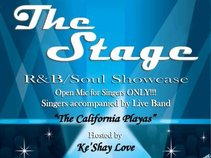 THE STAGE (RnB Showcase & open mic for SINGERS only)