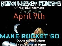 ROCKN WHISKEY MONDAYS @ MARTHAS VINEYARD