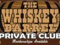The whiskey barrel