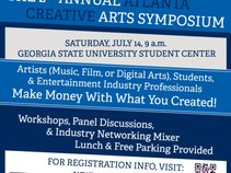 Atlanta Creative Arts Symposium @ Georgia State University
