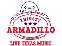 Thirsty Armadillo