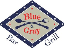 Blue and Gray Bar and Grill