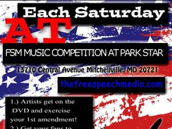 FREE SPEECH CONCERT SERIES AT PARK STAR ATTRACTION