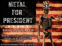 Metal For President Radio