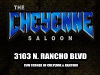The Cheyenne Saloon