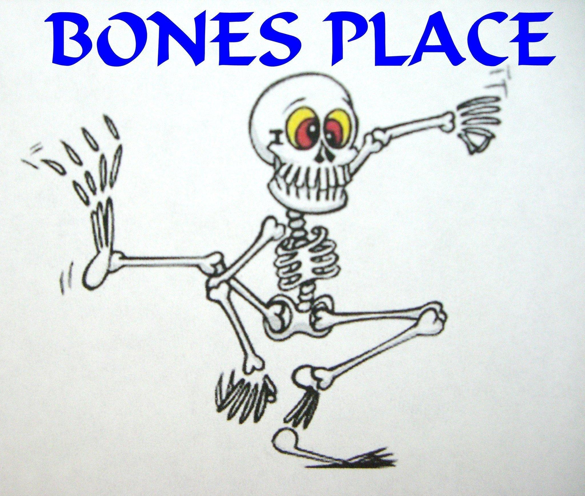 Зимний, прикольные рисунок скелета