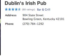 Dublins Irish Pub