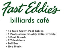 Fast Eddie's Billiards Cafe