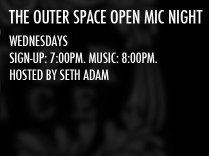 The Outer Space Open Mic Night