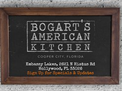 Bogart S American Kitchen Hollywood Fl Shows Schedules And Directions Reverbnation