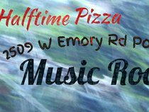 Halftime Pizza Music Room
