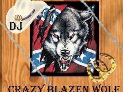 DJ Crazy Blazen Wolf With Sound Machine Country Radio