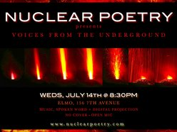 Nuclear Poetry at The Lounge @ Elmo