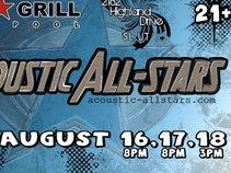 The Acoustic All-Stars Music Festival