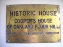 Concerts at the Historic Cooper's House of Oakland Mills (Circa 1790)
