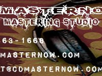 CD Master Now Mastering Studio